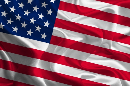 patriot act: American Flag Stock Photo