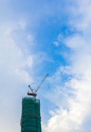 ongoing: Ongoing constructions of sky high buildings