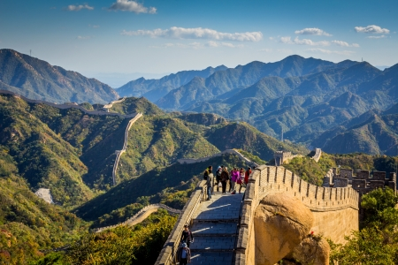 Chinese Great Wall Editorial
