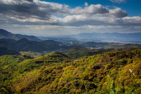 badaling: Mountains around the Badaling Great Wall