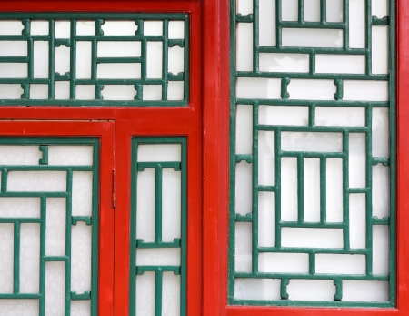 Chinese traditional window arts photo