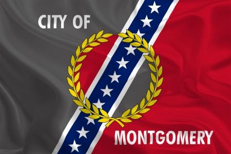 montgomery: USA City Flags  Montgomery, Alabama Stock Photo