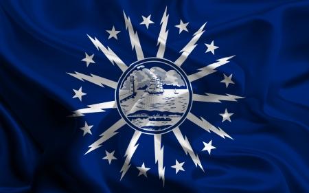 USA City Flags  Buffalo photo