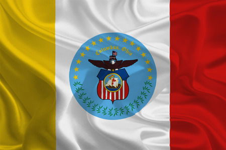 USA City Flags  Columbus, Ohio  photo