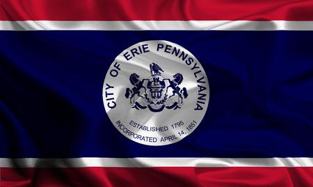 USA City Flags  Erie