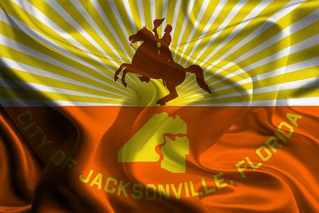 USA City Flags  Jacksonville  photo