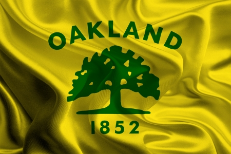 USA City Flags  Oakland photo