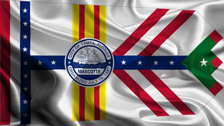 USA City Flags  Tampa  photo