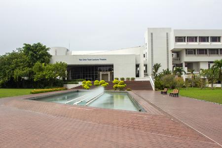 Tan Chin Tuan Lecture Theatre de l'Université technologique de Nanyang à Singapour NTU est l'une des deux plus grandes universités publiques à Singapour Banque d'images - 25772036