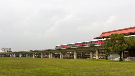 hdb: Singapore Mass Rapid Transit MRT Train Travel