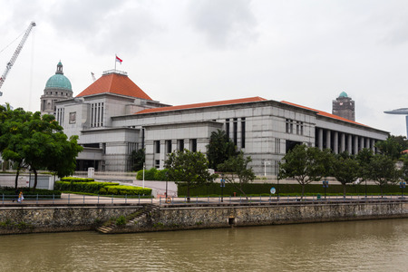 renamed: The Singapore Parliament building on a part of High Street that was renamed Parliament Place, was completed in 1999 Editorial