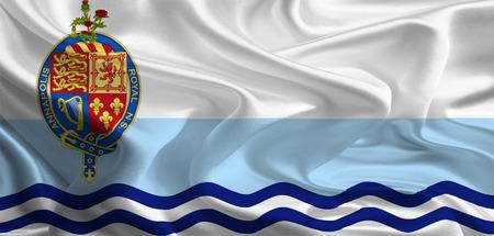 municipal: Canadian Municipal Flags  Annapolis Royal  Stock Photo