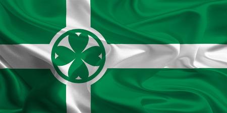 municipal: Canadian Municipal Flags  Chilliwack  Stock Photo