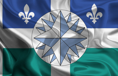 unofficial: Canadian Municipal Flags  Gaspesia  Unofficial   Stock Photo