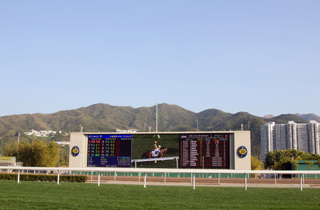 Sha Tin Racecourse is one of the two racecourses for horse racing in Hong Kong  It is located in Sha Tin in the New Territories  It is managed by Hong Kong Jockey Club