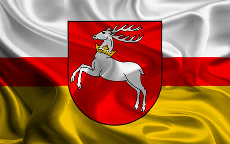 foreign land: Flags of Administrative divisions of Poland  Lublin Voivodeship