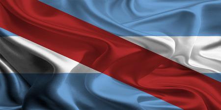 argentine: Argentine Province Flags  Entre Rios Stock Photo