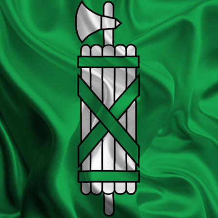 Flag of St  Gallen photo