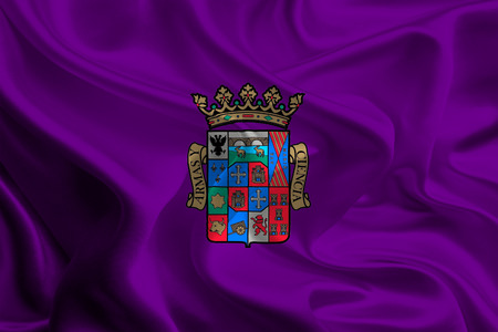palencia province: Flags of Provinces of Spain  Palencia Stock Photo