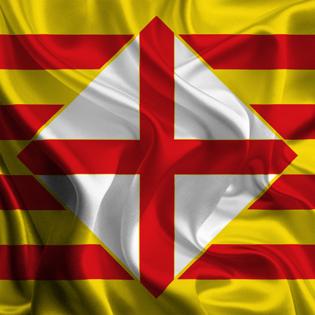 foreign land: Flags of Provinces of Spain  Barcelona
