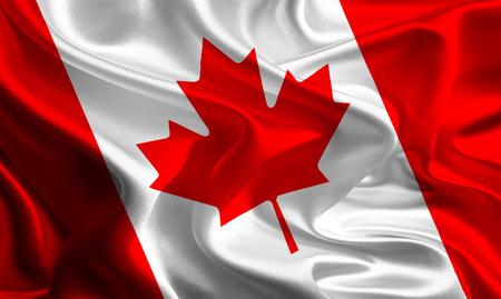 Flag of Canada Reklamní fotografie - 26351724