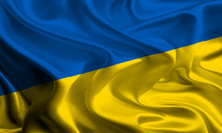 Flag of Ukraine photo