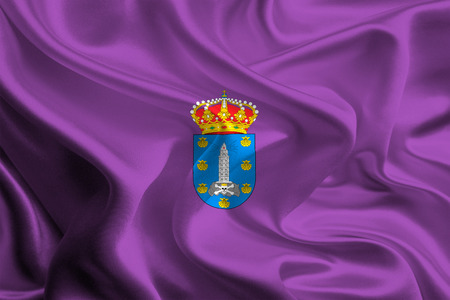 foreign land: Flags of Provinces of Spain  A Coruna