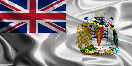 antarctic: British Antarctic Territory Flag