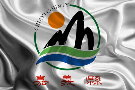 southwestern asia: Flag of Taiwanese Chiayi County