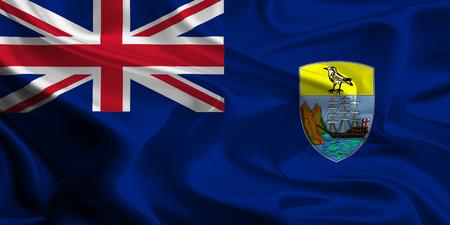 helena: Flag of the British Overseas Territory Saint Helena