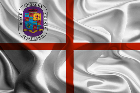 georges: Flag of Prince Georges County of the USA