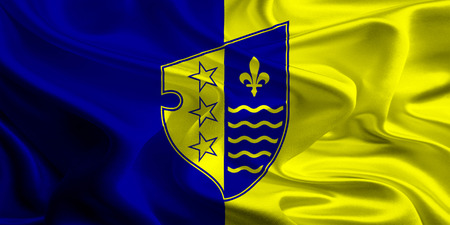 entities: Flag of Bosnian Podrinje Canton of the Federation of Bosnia and Herzegovina