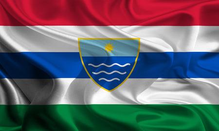 entities: Flag of Herzegovina-Neretva Canton of the Federation of Bosnia and Herzegovina