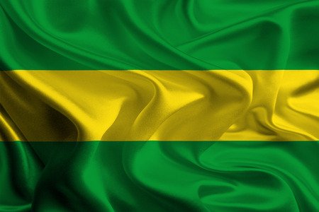 colombian: Flag of Colombian Department, Cauca Stock Photo