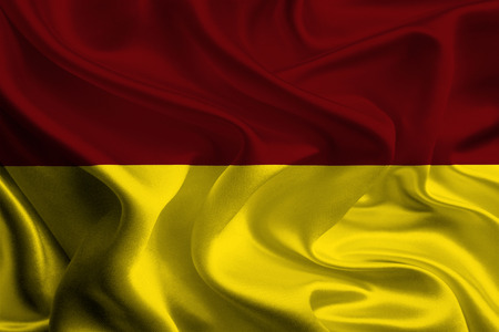colombian: Flag of Colombian Department, Tolima Stock Photo