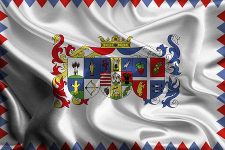 Flag of Hungarian Szabolcs-Szatmar-Bereg County  photo
