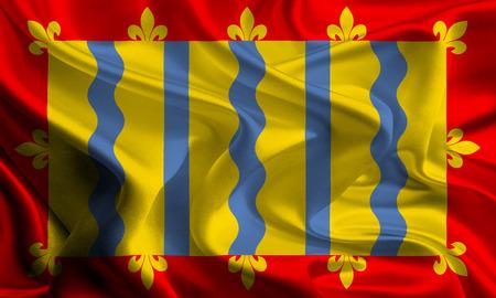 cambridgeshire: Flag of Cambridgeshire Stock Photo