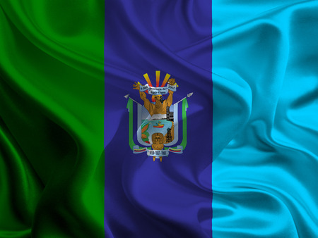 Flag of Santa Elena Province, Ecuador photo