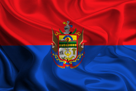 Flag of Chimborazo Province, Ecuador photo