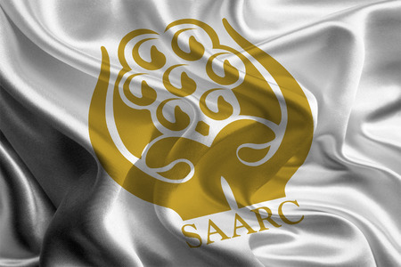 Flag of South Asian Association for Regional Cooperation  SAARC   photo
