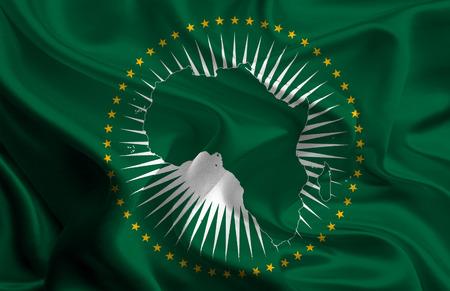 fag: African Union Fag Stock Photo