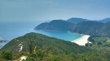 arial view: Arial view of Hiking Trails in Lok Ke Wan beach area