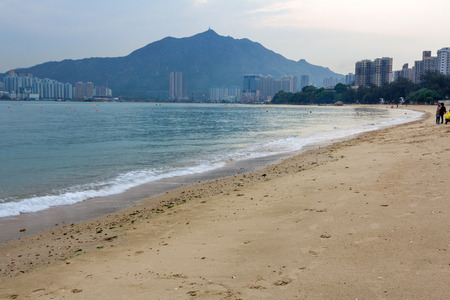 Gold Coast in Tuen Mun, Hong Kong  photo