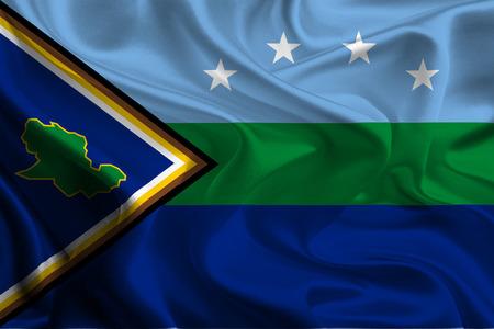 Flags of Delta Amacuro State, Venezuela photo