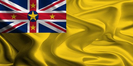 Flag of Niue photo