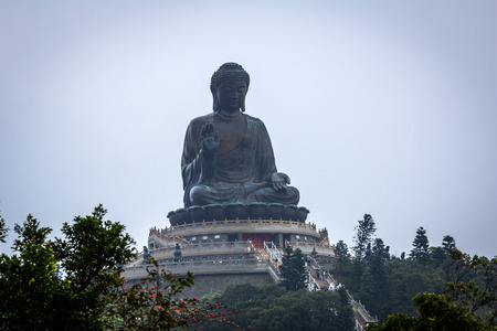 The Tian Tan Buddha in Hong Kong