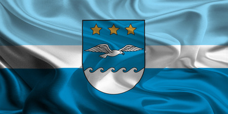 jurmala: Flag of Jurmala, Latvia