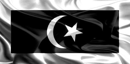 Vlag van Terengganu, Maleisië
