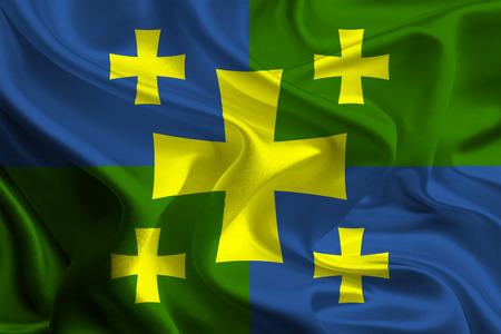 kutaisi: Flag of Kutaisi, Georgia