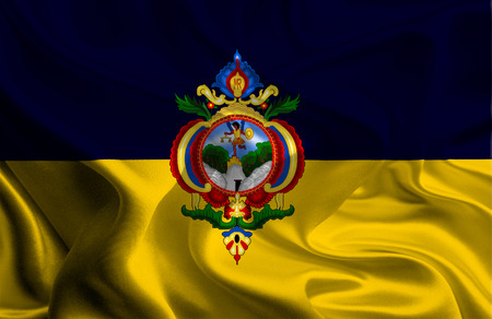 Flag of Tegucigalpa, Honduras photo